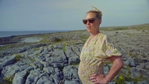 Kathryn Thomas exploring the Burren.