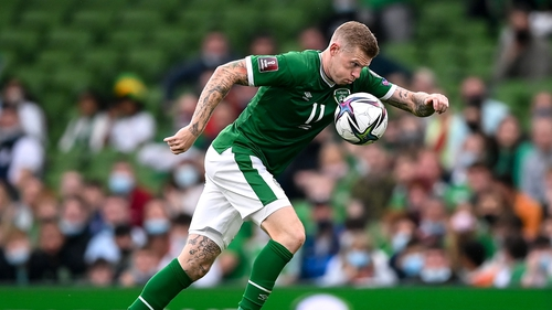 James McClean has hit out at the attitude of the Irish media