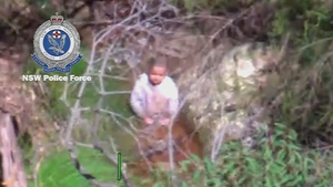 AJ was found drinking from a creek three days after he went missing