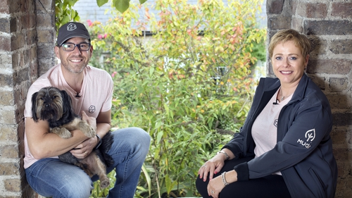 Naked Collective co-founders Niall Phelan and Catherina Butler