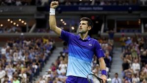Novak Djokovic had to survive a major scare against Jenson Brooksby
