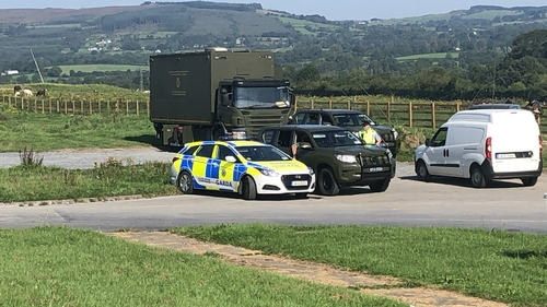 Hundreds of gardaí and army personnel were involved in the searches