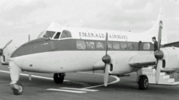 Emerald Airways at Eglinton Airport (1966)