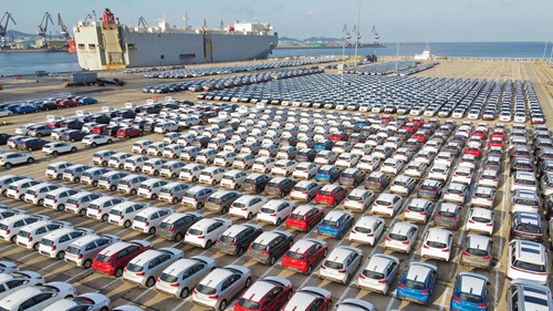 The chip shortage is causing huge difficulties for car production and delivery times.