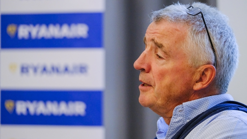 Ryanair CEO Michael O'Leary says there will be less capacity in summer 2022
