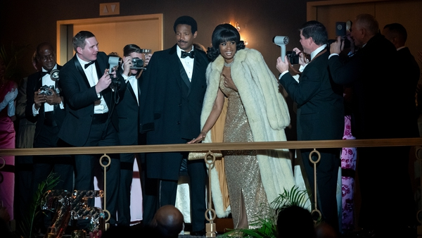 Marlon Wayans as Ted White and iJennifer Hudson n Respect