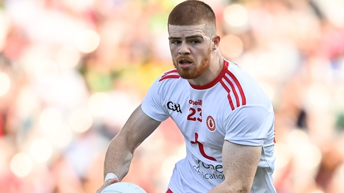 Cathal McShane contributed 1-03 as a sub against Kerry