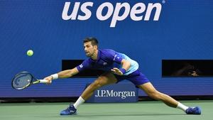 Novak Djokovic is through to the US Open semi-final