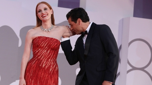 Jessica Chastain and Oscar Isaac at the Venice Film Festival on September 4