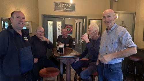 The pub was the only one left in scenic Rathgormack village close to the Comeragh Mountains