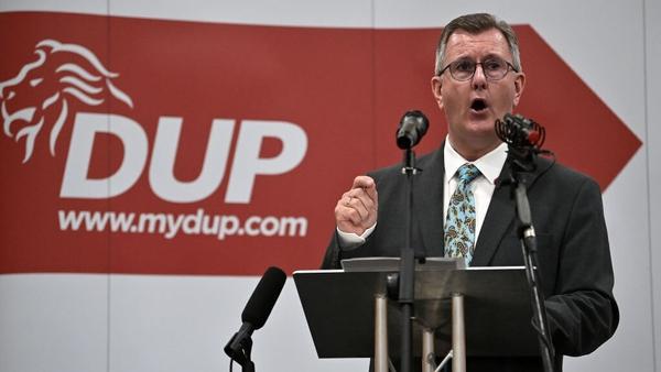 Ceannaire an DUP, Jeffrey Donaldson