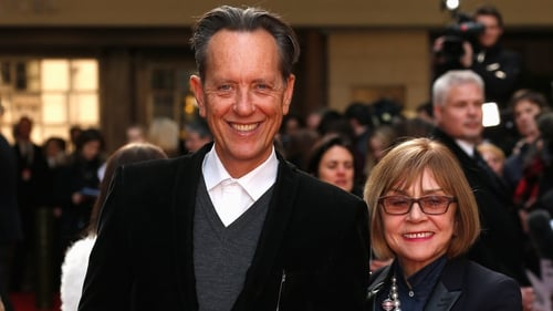 Richard E Grant and Joan Washington pictured in 2016