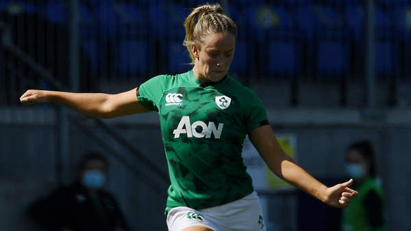 Stacey Flood kicked five points in a player of the match performance against Italy