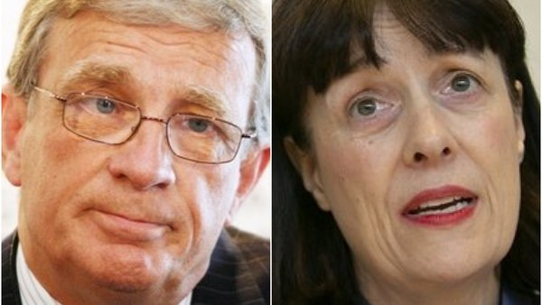 Prof Tom Keane and Laura Magahy stood down on Wednesday