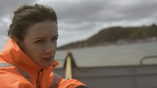 Aoife Duffin stars in Niall McKay's short film The Ferry