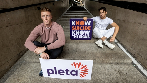 Ray Connellan and Stephen Byrne. Photo: Pieta