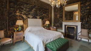 A hotel beloved by George Clooney has just been named as the best resort in Ireland and the UK. Photo: Ballyfin Demesne