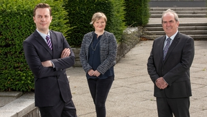 Padraig Rushe and Sinead Byrne of Initiative Ireland and Kevin Johnson of CUDA