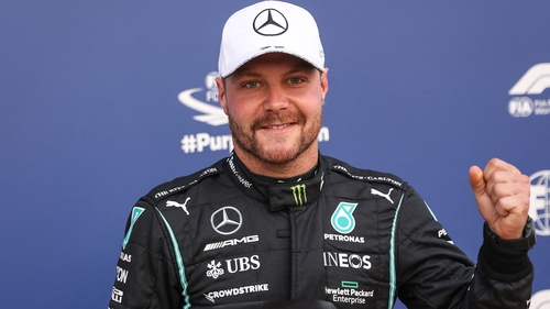 The Finn is pole for Saturday's sprint race but set to start down the grid for Sunday's grand prix