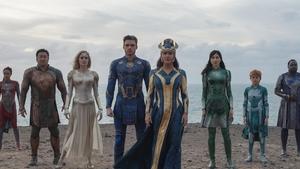 Marvel's Eternals is due in cinemas on 5 November