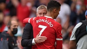 Ole Gunnar Solskjaer says he must manage Cristiano Ronaldo's minutes