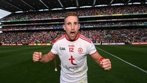 Niall Sludden had an outstanding first half for Tyrone at Croke Park