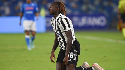 Moise Kean's error led to Napoli's winner