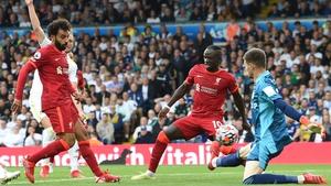 Mohamed Salah opened the scoring