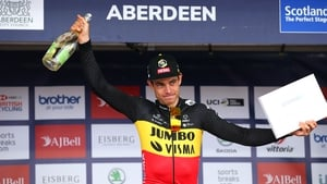 The Belgian took victory in a dramatic finish