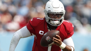 Kyler Murray threw for 289 yards, completing four touchdowns through the air and rushing for another