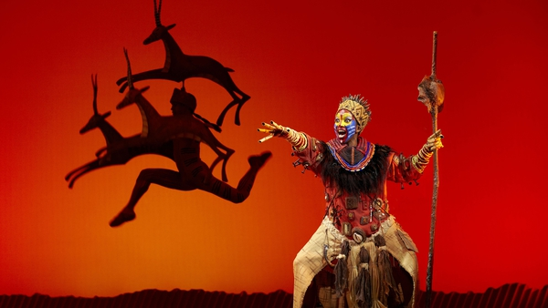 Disney's The Lion King returns to the Irish stage this December (Pic: Brinkoff and Mogenburg}