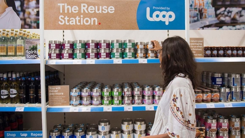 A range of 88 products will be offered in the Tesco reusable packaging trial in the UK
