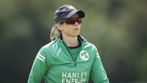 Eimear Richardson was chosen as best player in the T20 World Cup Europe Qualifier