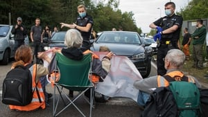 Protesters in England blocked several m25 junctions