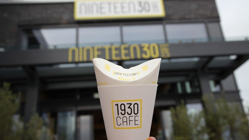 The newly opened 1930 Café uses ButterflyCup