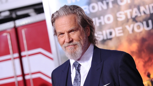 Jeff Bridges (pictured in 2017) - Looking forward to returning to work on the thriller series The Old Man