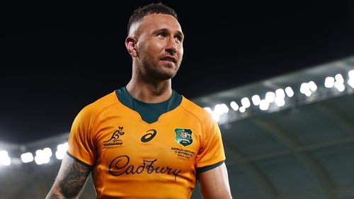 Quade Cooper has made 71 appearances for Australia