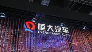 The warning by China Evergrande New Energy Vehicle Group was the clearest sign yet that the embattled property developer's liquidity crisis is worsening in other parts of its business