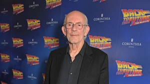 Christopher Lloyd at the opening night of the Back to the Future musical