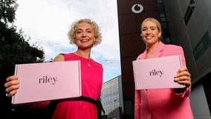 Anne O'Leary, CEO of Vodafone Ireland and Fiona Parfrey, Co-Founder of Riley