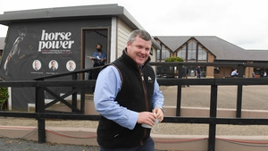 Gordon Elliott saddled Oh Purple Reign at Punchestown on his return to the track