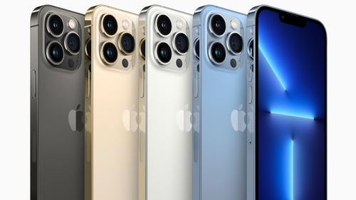 The new iPhone 13 Pro comes in four colours
