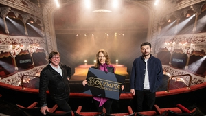 Mike Adamson, Managing Director of Live Nation Ireland, Elaine Carey, Chief Commercial Officer of Three Ireland & UK and Zach Desmond of MCD