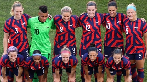 The In 2019 players from the women's team put their names to a lawsuit against the USSF over equal pay and working conditions