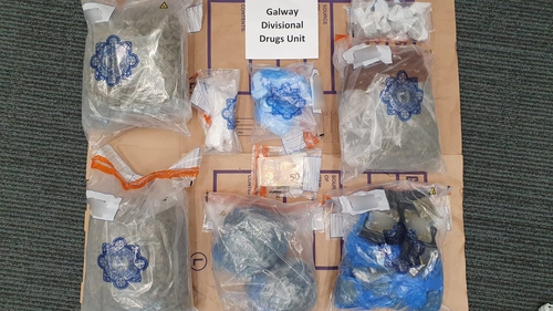 Cocaine, cannabis and cash were seized during the searches