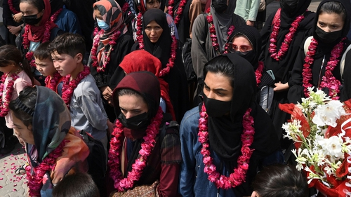 The Taliban banned women from playing all sport during their first rule in the 1990s