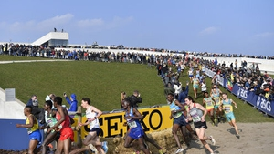 A view of the last World Cross Country in AAarhus, Denmark