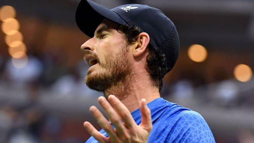Andy Murray was a fifth-seed wildcard in Rennes