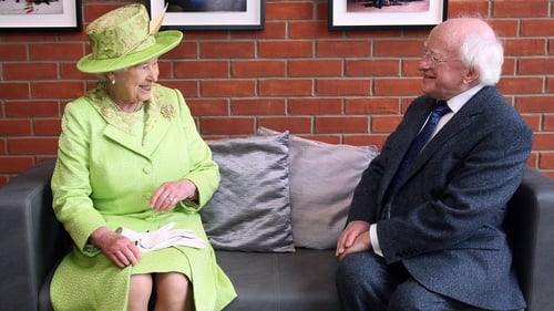 President Michael D Higgins has declined an invitation to the service, which will be attended by Britain's Queen Elizabeth