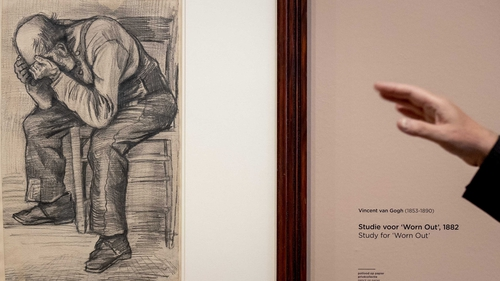 The drawing has just gone on public display for the first time